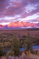 Alpen Glow, Snake River Overlook