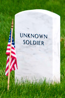 Unknown Soldier Flags In