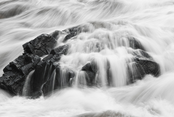 Great Falls B&W