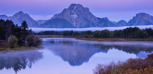 Oxbow Bend Twilight